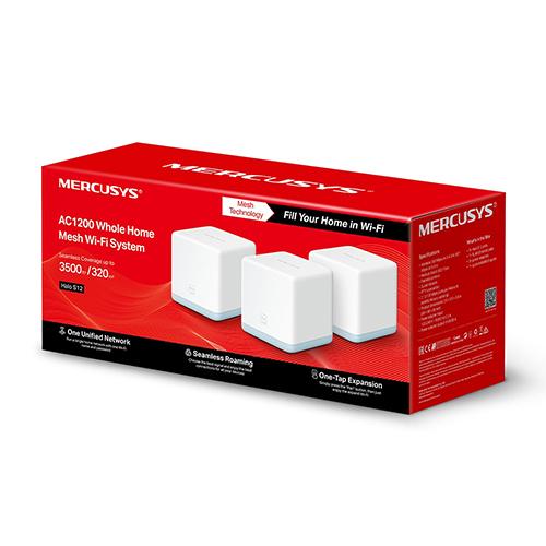 Mercusys ac1200 Mesh Wifi System Triple Pack 2 - Bridge PC Repair Wexford